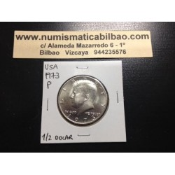 ESTADOS UNIDOS 1/2 DOLAR 1973 P KENNEDY NICKEL SC HALF DOLLAR