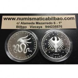 . 10€ EUROS 2015 Ceca G ALEMANIA CRANACH PLATA PROOF Silver