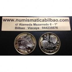 FINLANDIA 5 EUROS 2014 Nº 25 NATURALEZA NORDICA SC MONEDA BIMETALICA