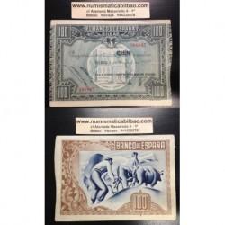 1937 EUSKADI 100 PESETAS MONTE DE PIEDAD EBC+ 306837 BILBAO
