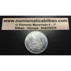 PORTUGAL 500 ESCUDOS 2001 OPORTO CAPITAL EUROPEA DE LA CULTURA KM.733 MONEDA DE PLATA SC