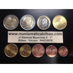 ESPAÑA EUROS 2011 SC 1+2+5+10+20+50 Centimos 1€+2€ + 2€ GRANADA