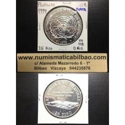 FILIPINAS 25 PESOS 1979 ONU PLATA KM*228 Silver Philippines 25 Piso 1979