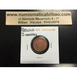 BELGICA 2 CENTIMOS 2000 SC MONEDA COIN Belgium Cts
