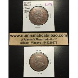 . 1 PENIQUE 1898 SUDAFRICA ZAR KRUGER KM*2 SC+ Penny South Afric
