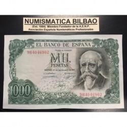 . 1000 PESETAS 1971 JOSE ECHEGARAY @RARA SERIE 9B902@ MBC+ ESPAÑ