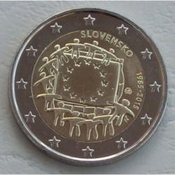 . 2 EUROS 2015 BANDERA EUROPEA ESLOVAQUIA SC Moneda Coin