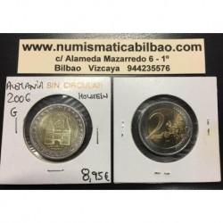 2 EUROS 2006 ALEMANIA Letra G HOLSTEIN HOLSTENTOR SC MONEDA BIMETALICA EURO COIN