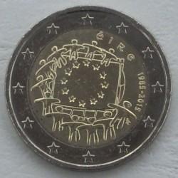 . .2 EUROS 2015 BANDERA EUROPEA IRLANDA SC Moneda Coin