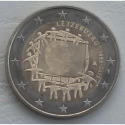 . .2 EUROS 2015 BANDERA EUROPEA LUXEMBURGO SC Moneda Coin