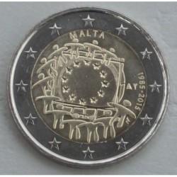 . .2 EUROS 2015 BANDERA EUROPEA ESLOVENIA SC Moneda Coin Sloveni