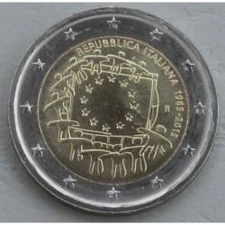 . .2 EUROS 2015 BANDERA EUROPEA ITALIA SC Moneda Coin ITALY