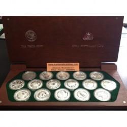 . 5 DOLLAR 1999 2000 AUSTRALIA SIDNEY OLYMPICS SILVER PLATA 1oz
