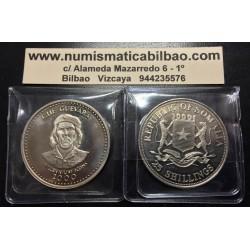SOMALIA República 25 SHILLINGS 2000 CHE GUEVARA KM.73 MILLENIUM COINS NICKEL MONEDA SIN CIRCULAR