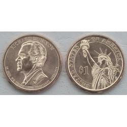 . 1 DOLAR 2015 D ESTADOS UNIDOS PRESIDENTE 35 KENNEDY $1 USA