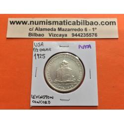 ESTADOS UNIDOS 1/2 DOLAR 1936 LEXINGTON CONCORD SESQUICENTENNIAL MONEDA DE PLATA SC Half Dollar Commemorative