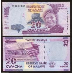 . MALAWI 50 KWACHA 1997 JOHN CHILEMBWE Pick 39 SC Billete Africa