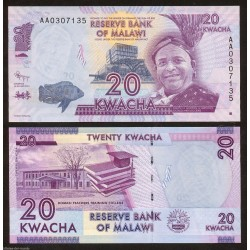 MALAWI 50 KWACHA 2007 ARCO DE INDEPENDENCIA Pick 53C BILLETE SC Africa BANKNOTE UNC