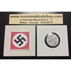 .BOHEMIA y MORAVIA 50 HALERU 1941 Hoy Chekia ZINC III REICH NAZI