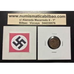 ESLOVAQUIA 10 HALIEROV 1939 CASTILLO KM.1 MONEDA DE BRONCE OCUPACION NAZI III REICH WWII Slovakia