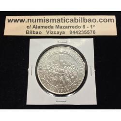 SUECIA 50 KRONOR 1975 REFORMA CONSTITUCIONAL CORONAS KM.848 MONEDA DE PLATA SC Sweden silver kroner