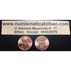 ESTADOS UNIDOS 1 CENTAVO 2014 D LINCOLN SHIELD SC US CENT