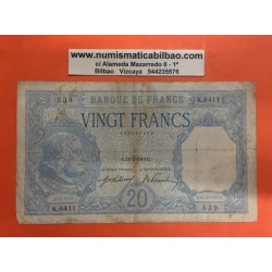 . FRANCIA 1000 FRANCOS 1944 MERCURY Pick 96C UNC France Francs