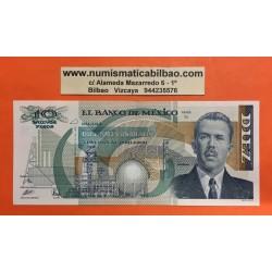 MEXICO 10000 PESOS 1991 CARDENAS PICK 90D @ARRUGA JUNTO A BUSTO@ BILLETE SC MEJICO BANKNOTE UNC