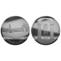 PORTUGAL 2,50 EUROS 2010 TERREIRO DO PACO MONEDA DE NICKEL SC