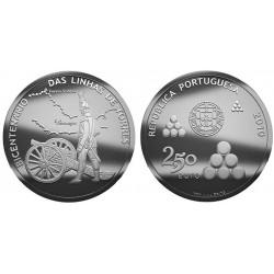 PORTUGAL 2,50 EUROS 2010 SOLDADO TORRES NIQUEL