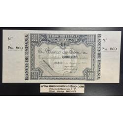 EUZKADI 1000 PESETAS 1937 SC CON MATRIZ BANCO DE VIZCAYA BILBAO