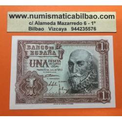 ESPAÑA 1 PESETA 1953 MARQUES DE SANTA CRUZ Serie Y Pick 144 BILLETE SC SIN CIRCULAR Spain banknote
