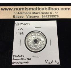 VIETNAM DEL NORTE 1 DONG 1976 GOBIERNO SOCIALISTA KM*14 SC Repub