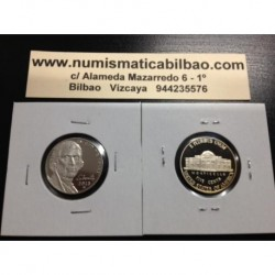 .ESTADOS UNIDOS 5 CENTAVOS 2013 S JEFFERSON NICKEL PROOF CENT US