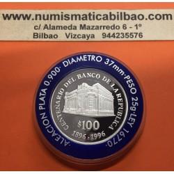 .ARGENTINA 5 PESOS 1994 CONSTITUCION PLATA SC KM*115A Silver