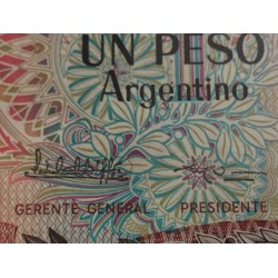 . ARGENTINA 1 PESO 1983 GENERAL SAN MARTIN Pick 311 SC BILLETE