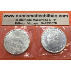 ESPAÑA 2000 PESETAS 1995 PRESIDENCIA DEL CONSEJO DE LA U.E. KM.954 MONEDA DE PLATA SC @EN BOLSA ORIGINAL@