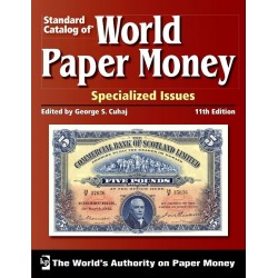 "@OFERTA@ CATALOGO DE BILLETES MUNDIALES WORLD PAPER MONEY ""SPECIALIZED ISSUES"" 1368 2015 Editorial Krause Edición 11th"
