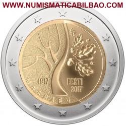 ..2€ EUROS 2014 FINLANDIA ILMARI TAPIOVAARA MONEDA NUEVA SC