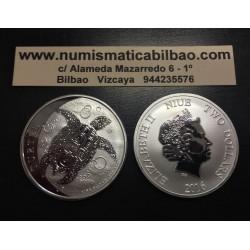 . .1 DOLAR 2016 AUSTRALIA KOOKABURRA PLATA Silver Oz Dollar