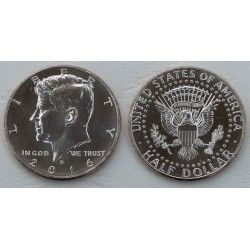 . ESTADOS UNIDOS 1/2 DOLAR 2015 P KENNEDY NICKEL SC HALF DOLLAR