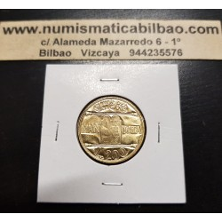 VATICANO 200 LIRAS 1993 JUAN PABLO II LOS 10 MANDAMIENTOS KM.248 MONEDA DE LATON SC Vatican 200 Lire