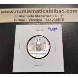 ITALIA 5 LIRAS 1929 REY VITTORIO EMANUELE III KM.67.1 MONEDA DE PLATA MUESQUITAS EN CANTO Italy silver 5 lire coin