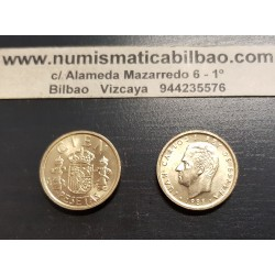 . ESPAÑA 100 PESETAS 1983 JUAN CARLOS I LIS ABAJO y ARRIBA @LUJO