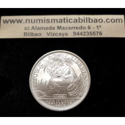 LIBERIA 20 DOLARES 2000 MILLENIUM Y2K LOVE OF LIBERTY KM.508 MONEDA DE PLATA SC 1 ONZA OZ silver coin