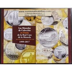 . .CATALOGO EURO MONEDAS + BILLETES 1999 - 2016 LEUCHTTURN