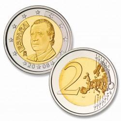 . 2€ EUROS 2014 ESPAÑA REY JUAN CARLOS I MONEDA SIN CIRCULAR