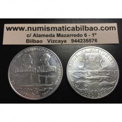 . 1000 ESCUDOS 1997 PORTUGAL ALBERTO y CARLOS I PLATA SC-