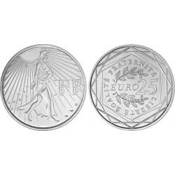 FRANCIA 25 EUROS 2009 LA SEMBRADORA SEMEUSE KM.1581 MONEDA DE PLATA SC France 25 Euro silver coin
