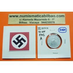 . ALEMANIA Ocup Aliada 10 REICHSPFENNIG 1947 F NAZI III REICH 1